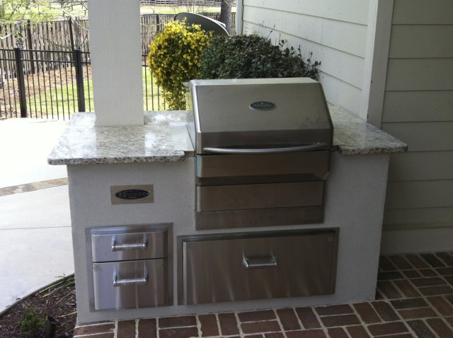 Small Kitchens - BBQ Islands - Fireside Outdoor Kitchens