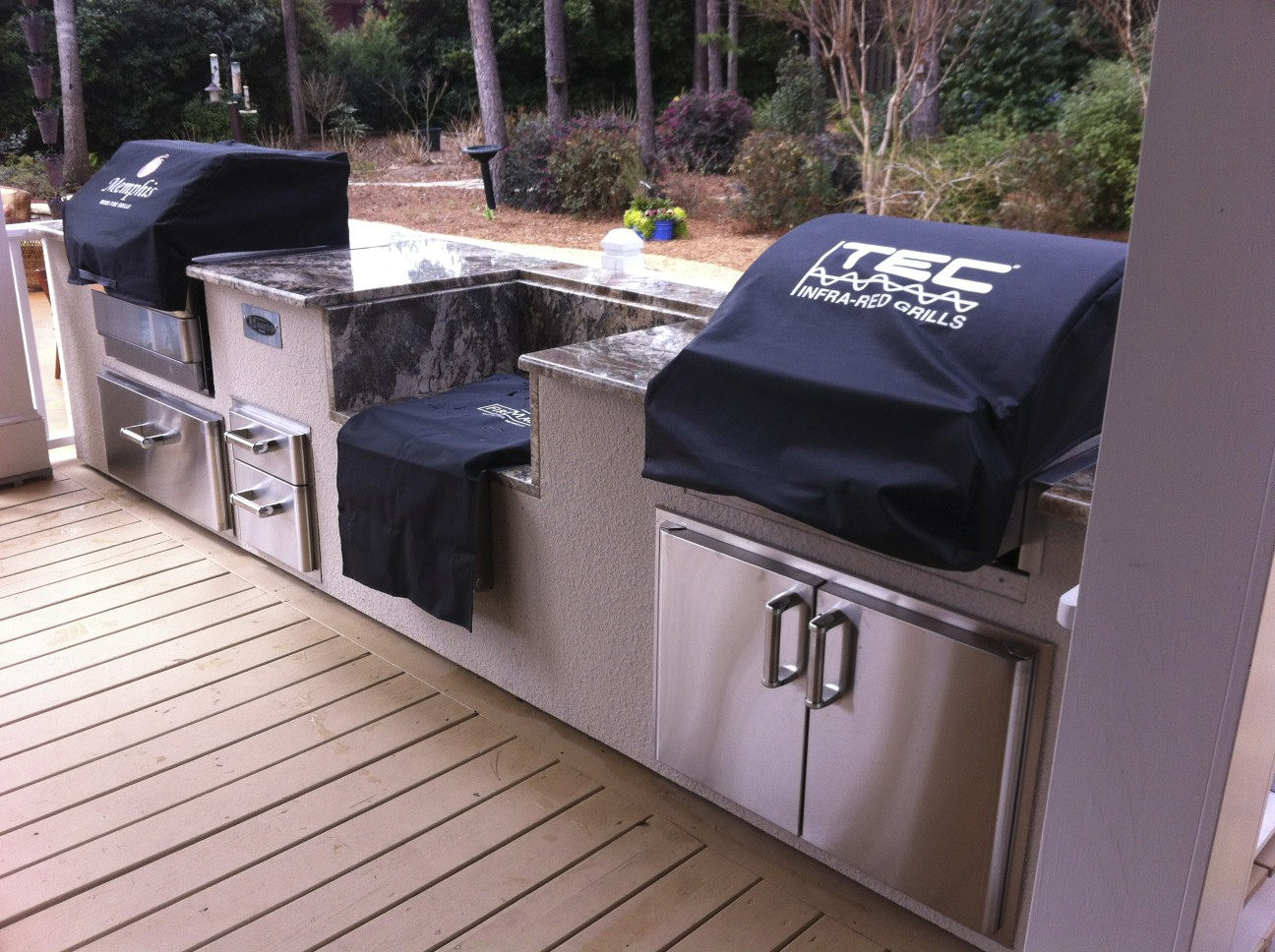 Outdoor Kitchen Furniture Outdoor Cabinets 101 Fireside Outdoor Kitchens