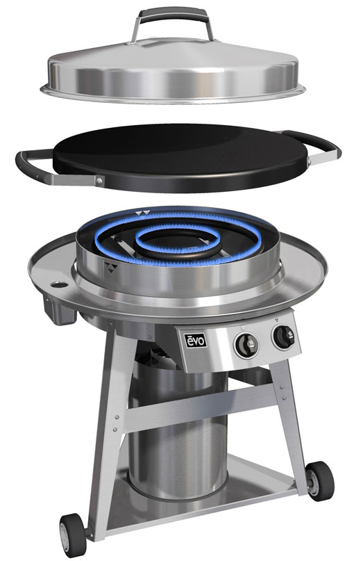 EVO Professional Series Outdoor Grill - Fireside Outdoor ...