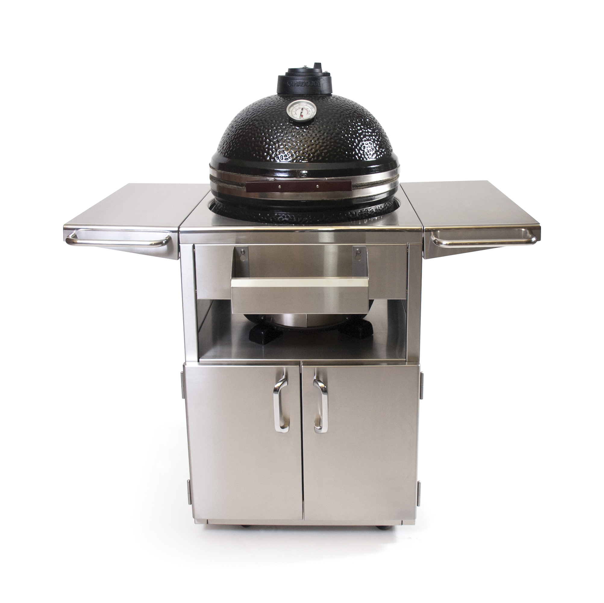 Stainless steel grill table fireside outdoor kitchens