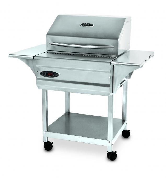 Memphis advantage pellet grill fireside outdoor kitchens for Outdoor kitchen without grill