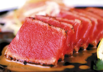 TEC Infrared Glass-Seared Blackened Ahi Tuna - Fireside Outdoor ...