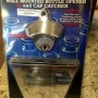Starr wall mounted bottle opener and cap catcher