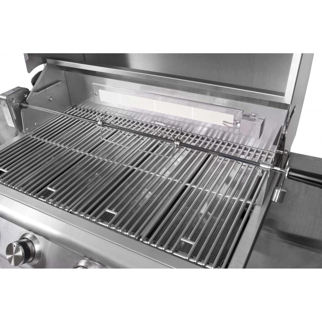 Blaze 32 Inch 4 Burner Grill With Rear Burner Fireside