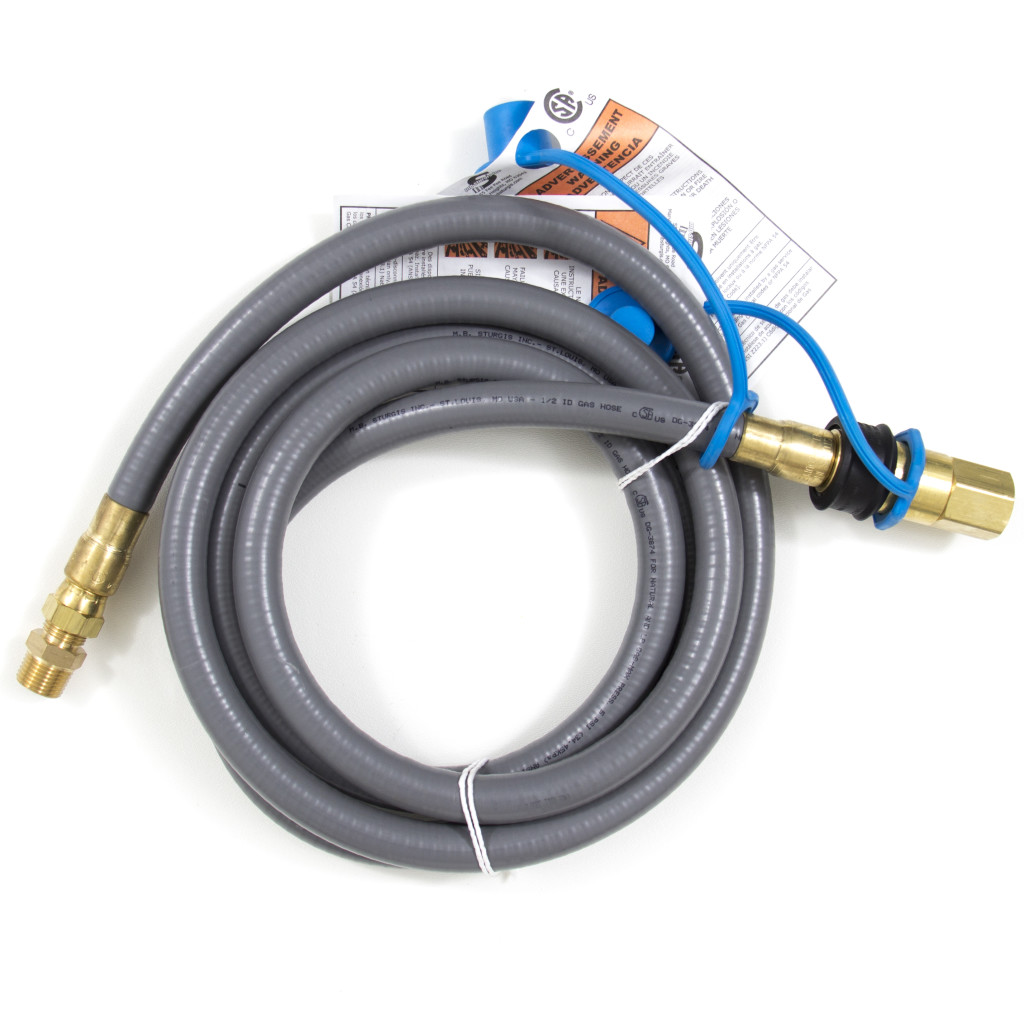 1 2 Inch Natural Gas Hose With Quick Disconnect Fireside
