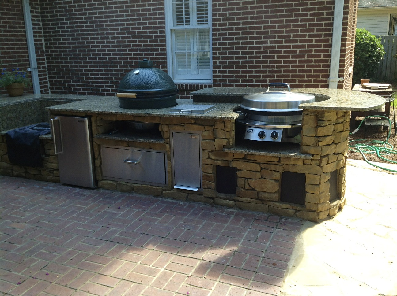 Kitchen Cabinets Augusta Ga Large Kitchens Augusta Ga Fireside Outdoor Kitchens