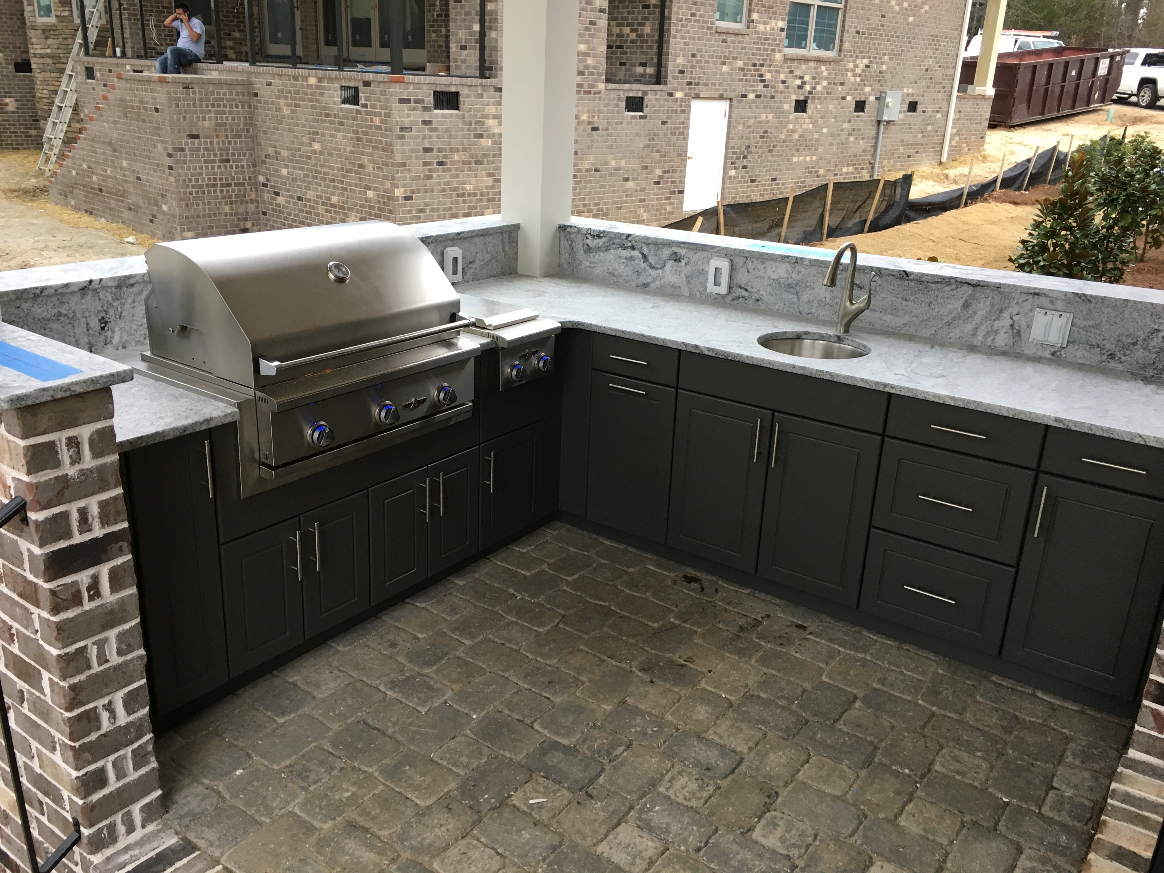 Werever Hdpe Cabinets Fireside Outdoor Kitchens