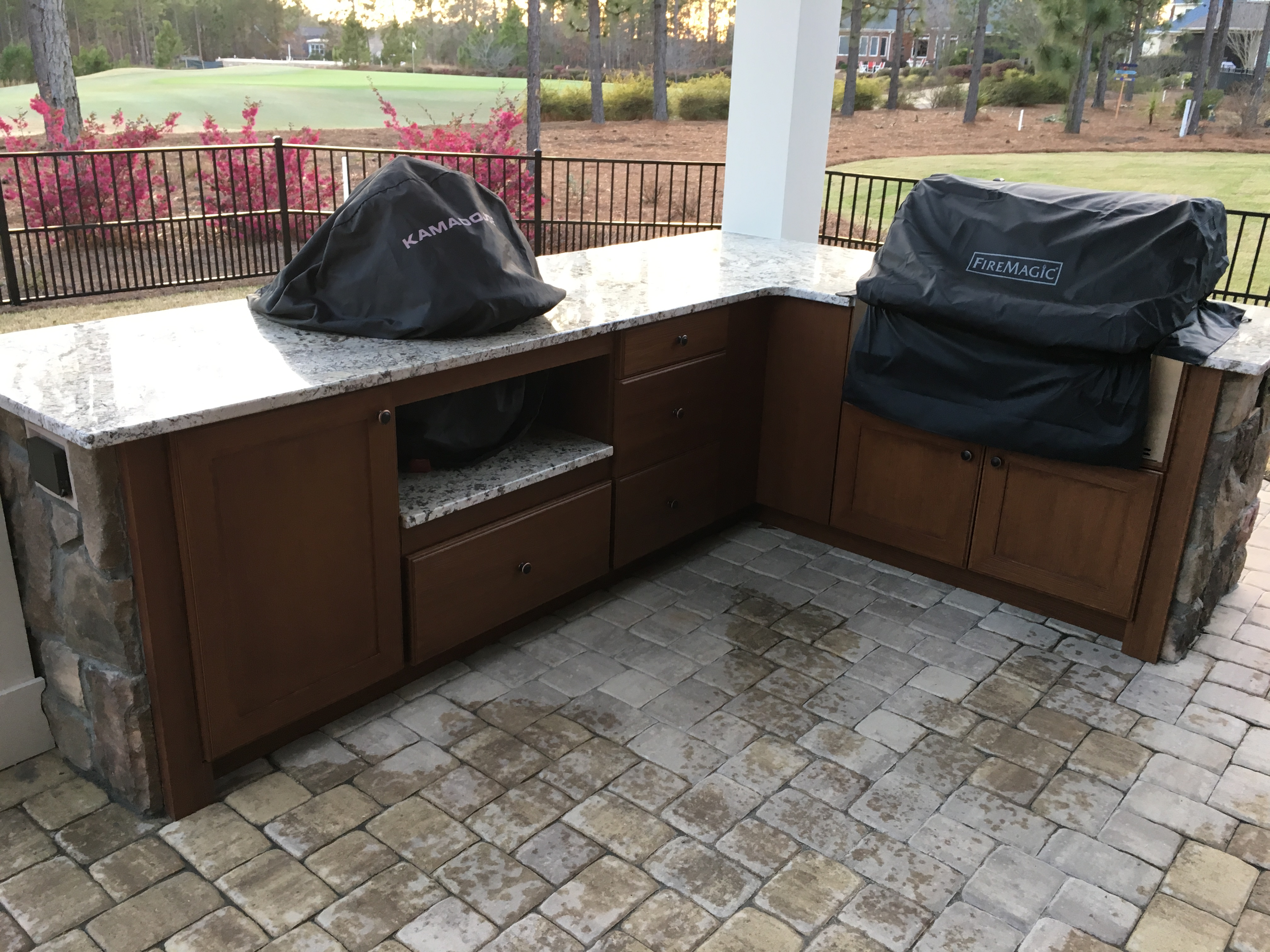 Golf course grills1