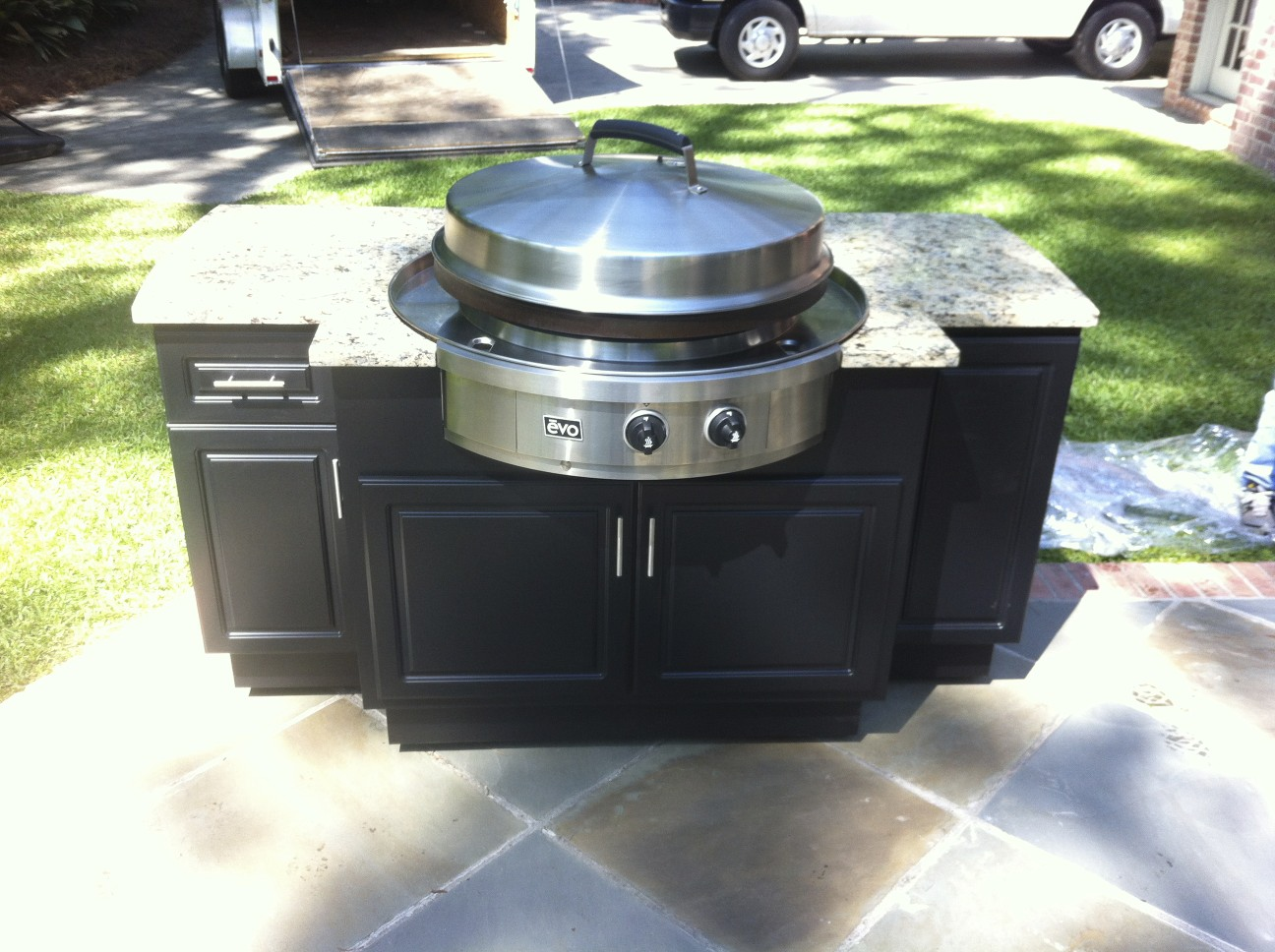 Image Result For Outdoor Kitchen Cabinets