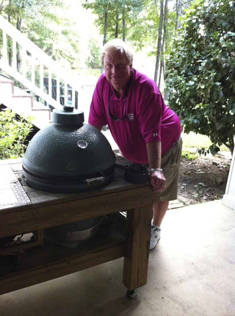 The Egg that starter Fireside Outdoor Kitchens & Grills
