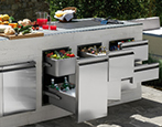 Outdoor Kitchens Storage Solutions