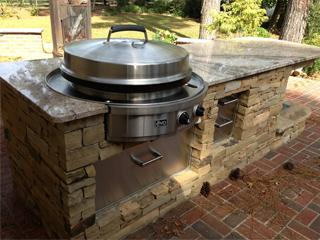 Evo Affinity 30g Built In Gas Grill