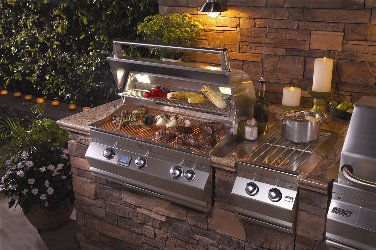Fire Magic Echelon Diamond 660i Fireside Outdoor Kitchens