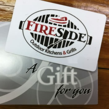 Fireside Gift Card Fireside Outdoor Kitchens