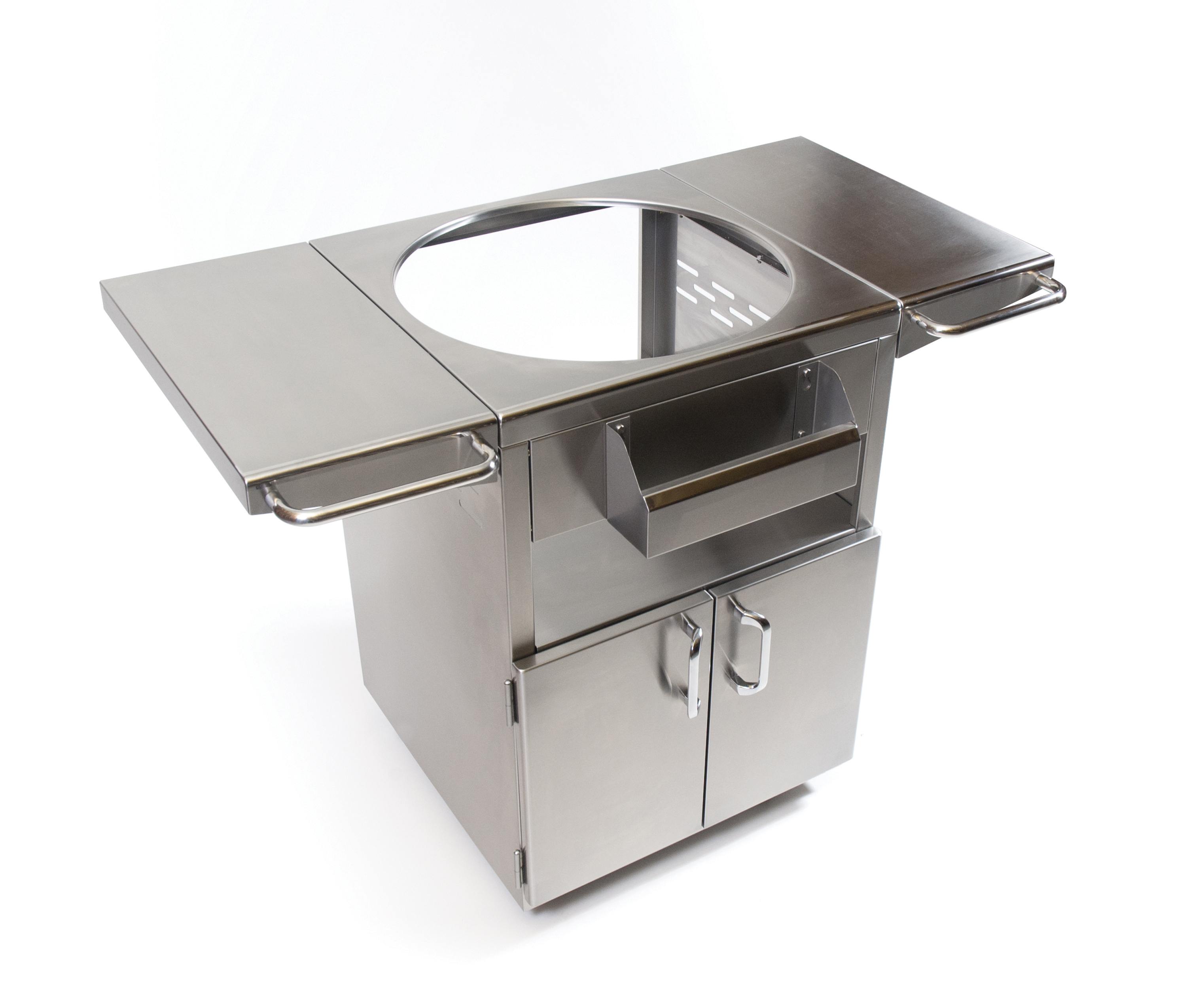 STAINLESS STEEL GRILL TABLE Fireside Outdoor Kitchens - Stainless steel table accessories