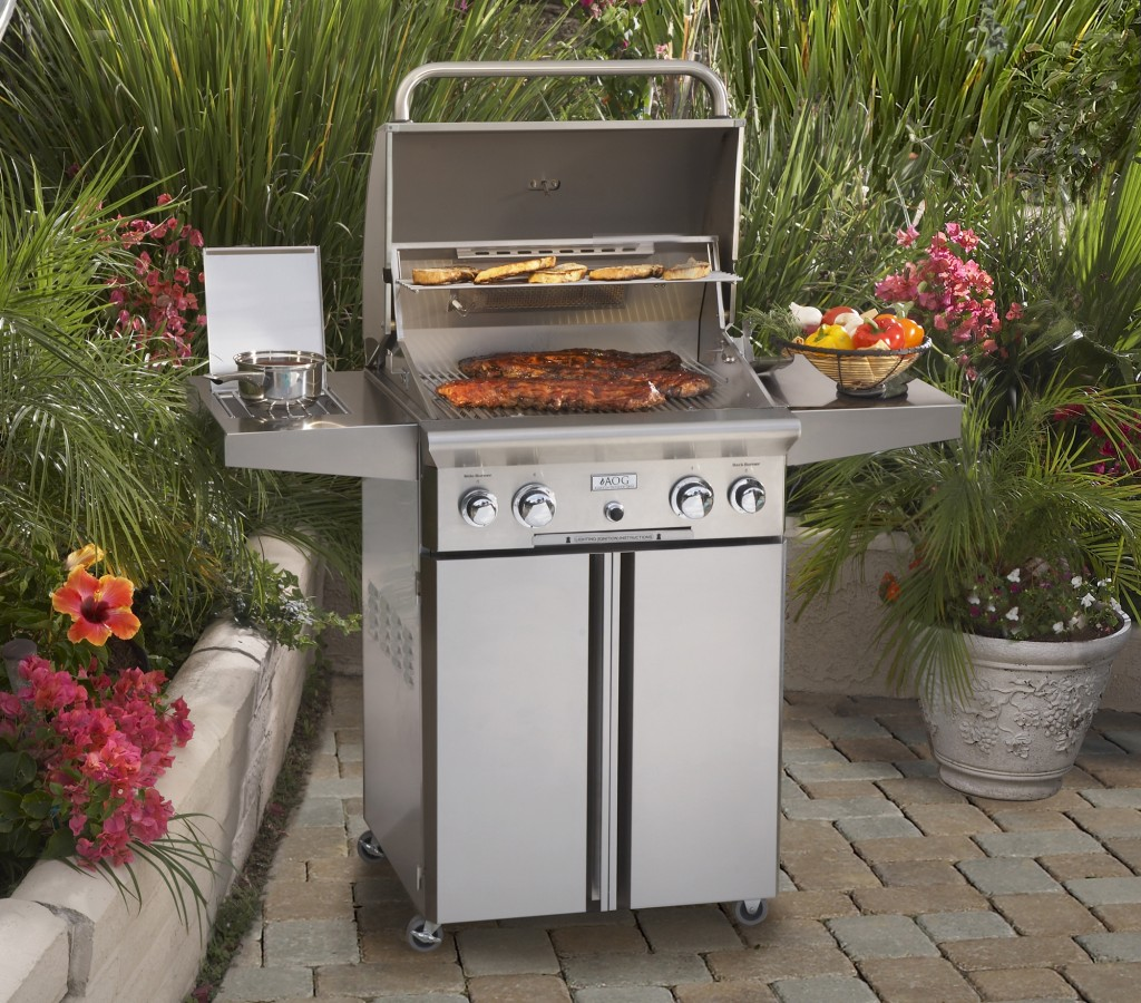 Aog Grill 24 Inch Cart Model Grill Fireside Outdoor Kitchens