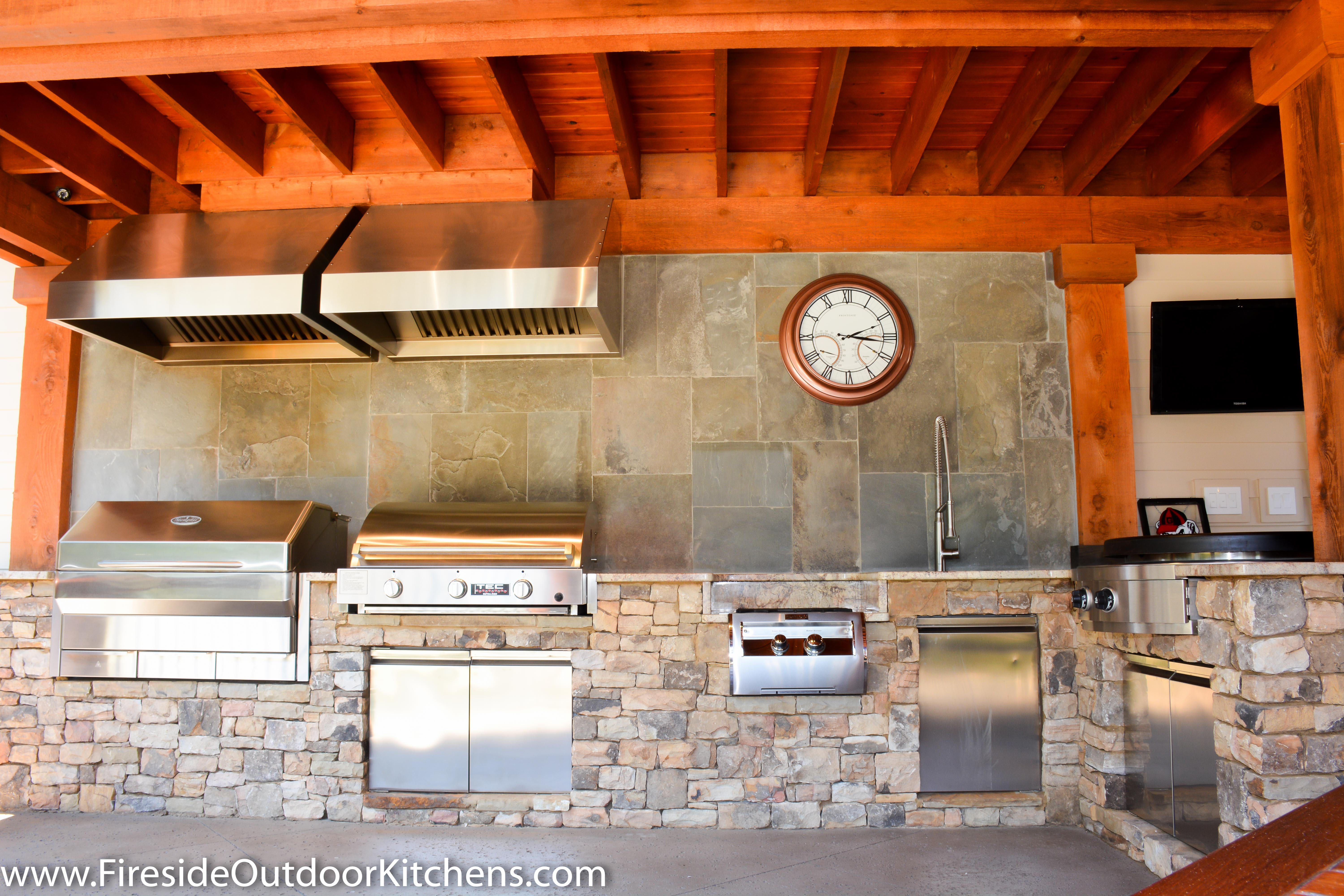 Fireside Outdoor Kitchen Spotlight: A Serious Cook's Second Kitchen on furnished house, aluminum house, wrapped house, buried house, ford house, dump house, packed house, stored house, protected house, inside a house, heated house, storage house,