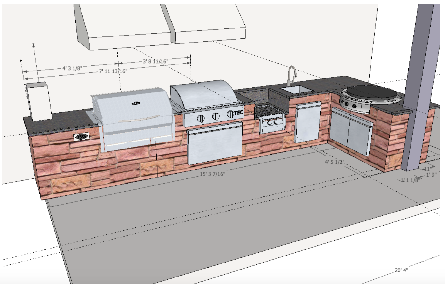 Fireside Outdoor Kitchen Spotlight A Serious Cook S Second