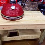 Kamado Joe and Taproot table combo