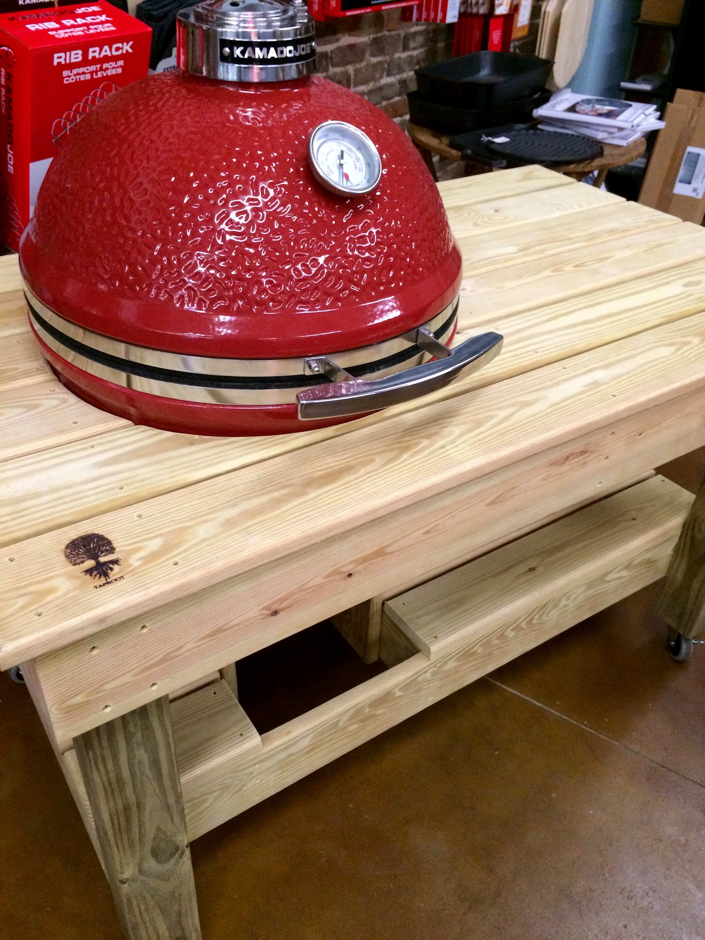 Diy Outdoor Kitchen Charcoal Grill