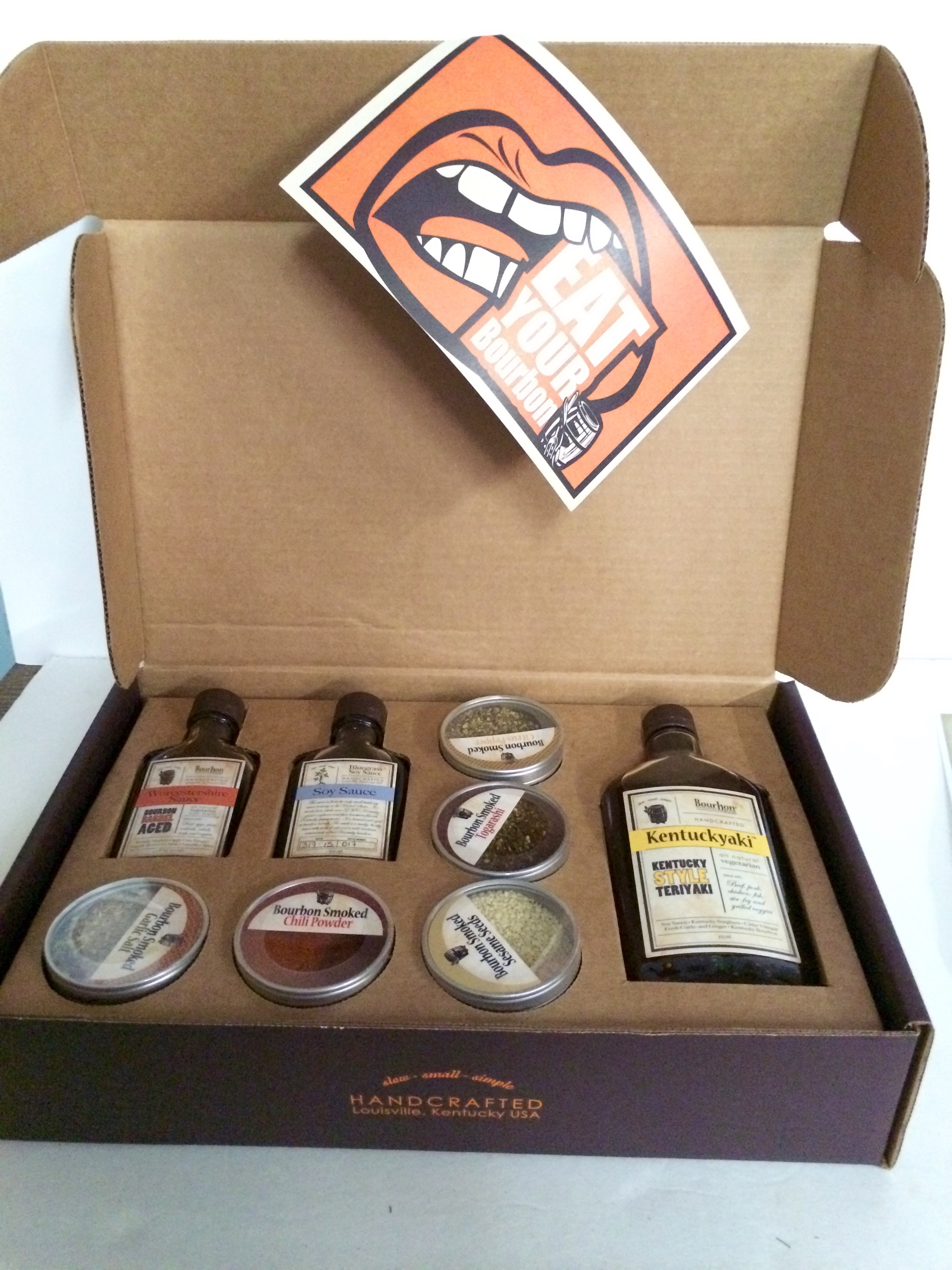 Eat your bourbon gift box & Eat Your Bourbon Gourmet Gift Box - Fireside Outdoor Kitchens