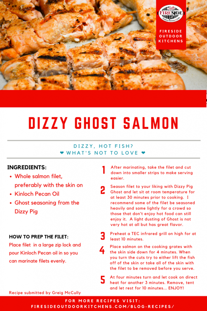 Dizzy Ghost Salmon