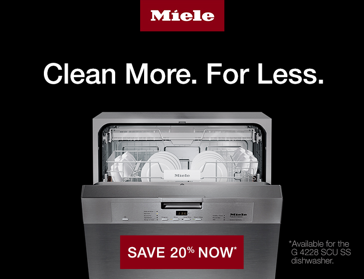 Miele Dishwasher Promo