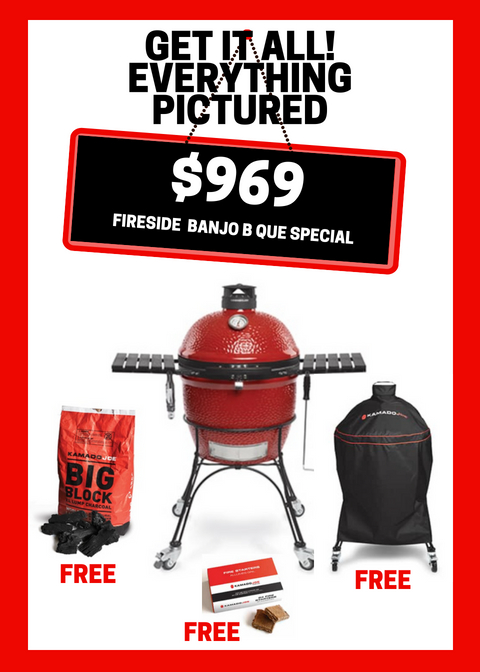 Did you know: Kamado Joe Special - Fireside Outdoor Kitchens