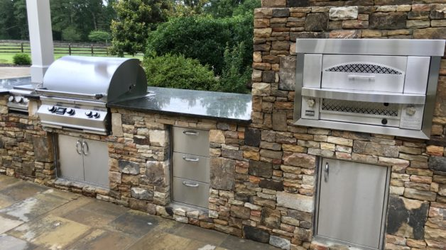Outdoor Kitchen Designs Archives - Fireside Outdoor Kitchens